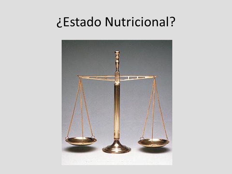 ¿Estado Nutricional?