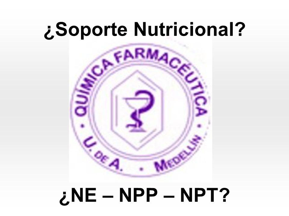 Caso Clínico Nº 2 Fósforo (No entra en el POS) Requerimiento: 14-20 mmol/día Alta osmolaridad - 7000 mmol Precipita la Nutrición parenteral Revisar relación Ca:P Recomendación: 15 mmol/día Administración del Fósforo: Ampolla de fosfato de potasio por 5 y 10 cc Cada cc aporta 3 mmol de fósforo y 4.4 mEq de Potasio 1 cc - 3 mmol de P X 15 mmol de P X= 5 cc de fosfato de potasio 1 cc - 4.4 mEq de K 5 cc X X= 22 mEq de potasio