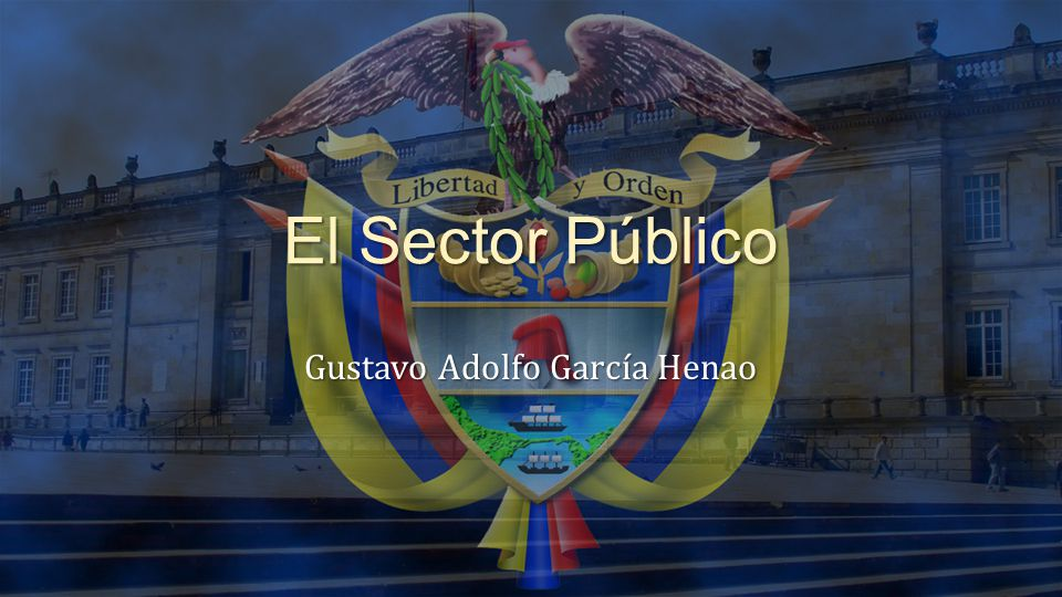 El Sector Público Gustavo Adolfo García Henao