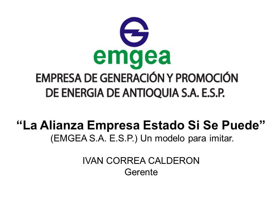 La Alianza Empresa Estado Si Se Puede (EMGEA S.A. E.S.P.) Un modelo para imitar.