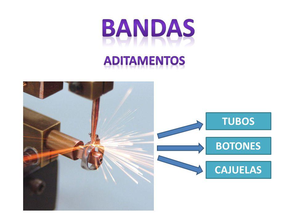 TUBOS BOTONES CAJUELAS