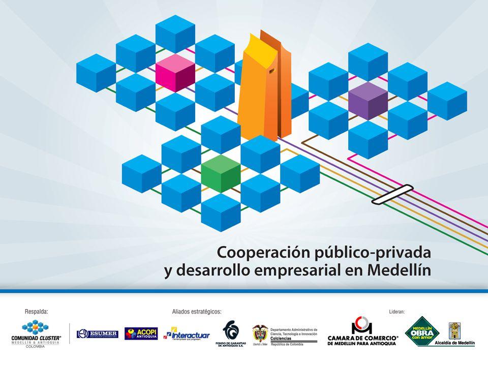 Contenido:Antecedentes Política Nacional de Competitividad ¿Cómo hemos trabajado en Medellín y la Región.