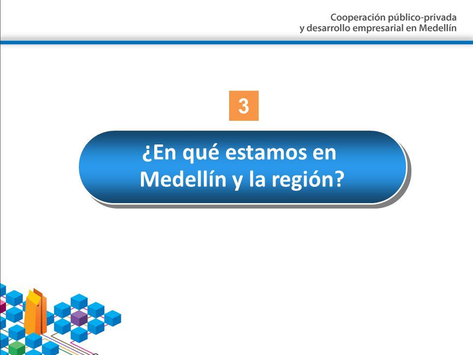 ¿En qué estamos en Medellín y la región? ¿En qué estamos en Medellín y la región? 3