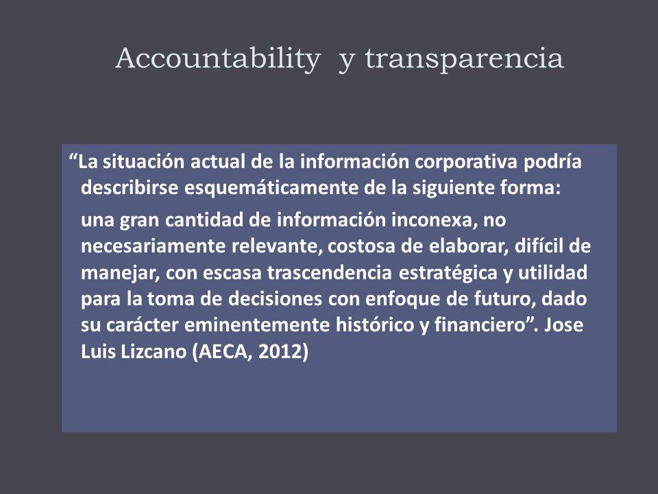 Accountability «Es el reconocimiento, asunción de responsabilidad y actitud transparente sobre los impactos de las políticas, decisiones, acciones, productos y desempeño asociado a una organización.»