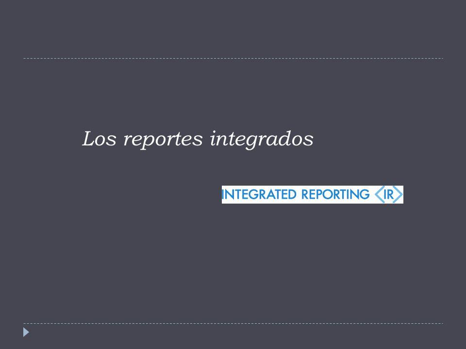 Los reportes integrados