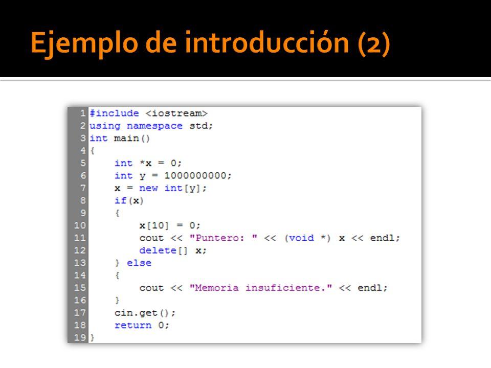 Bloque try: Donde se incluye el código que puede producir la excepción.