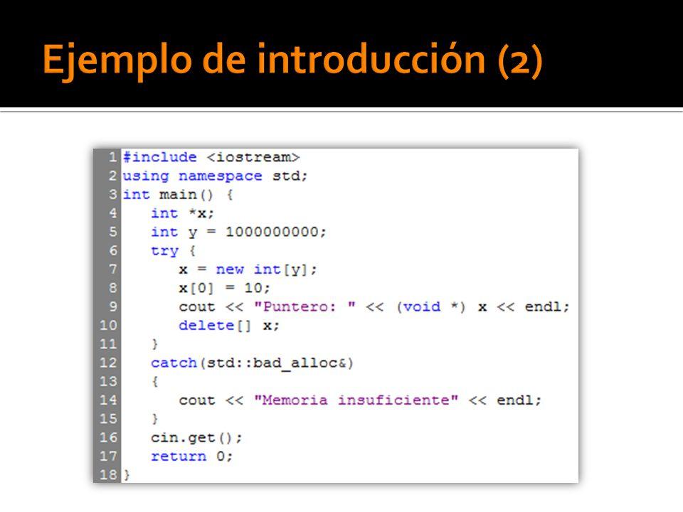 Esta versión de la función Insert construye y lanza un objeto RangeException si el índice está fuera del rango.