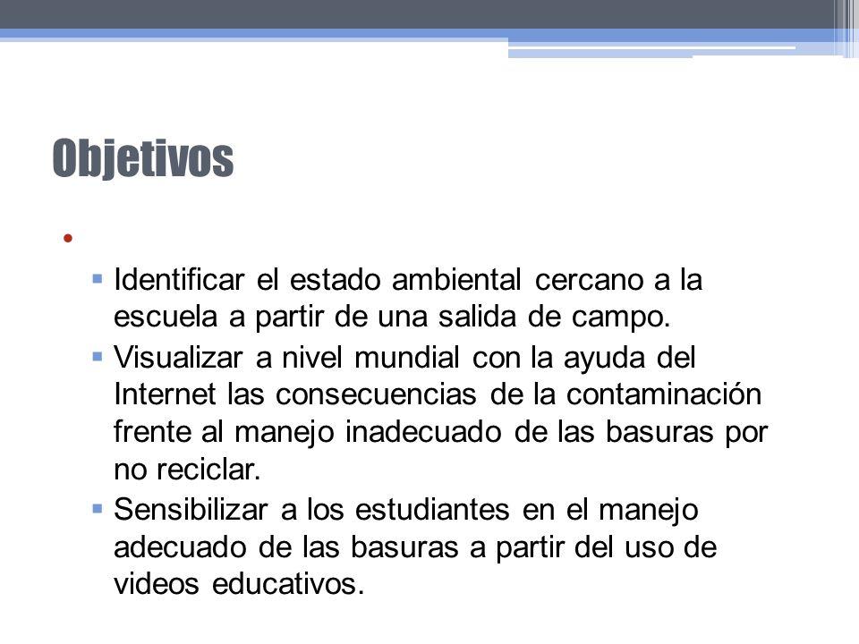 Objetivos Específicos: Mejoramiento del espacio institucional con actividades comunitarias.