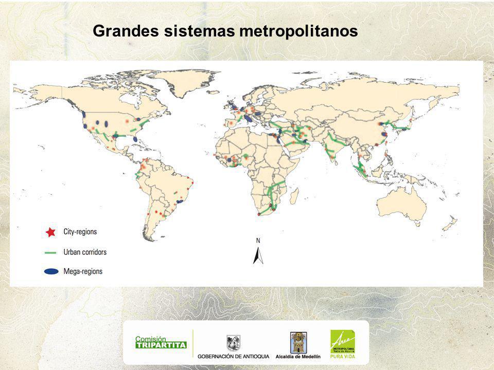 Grandes sistemas metropolitanos
