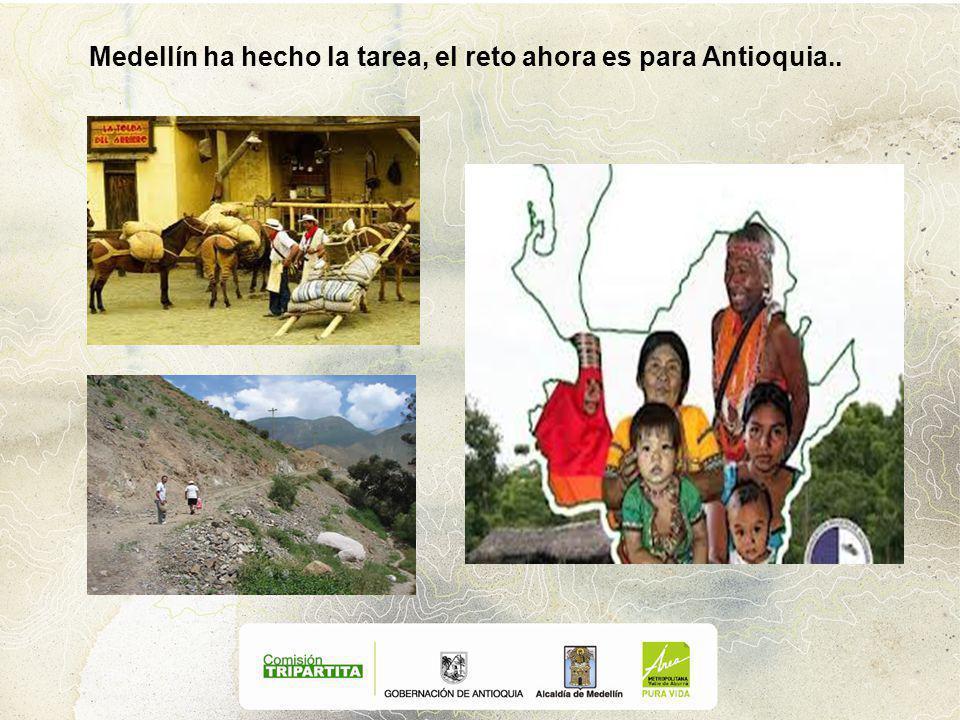 Medellín ha hecho la tarea, el reto ahora es para Antioquia..