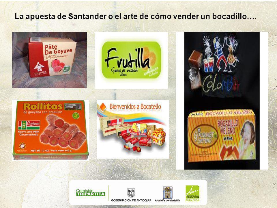 La apuesta de Santander o el arte de cómo vender un bocadillo….