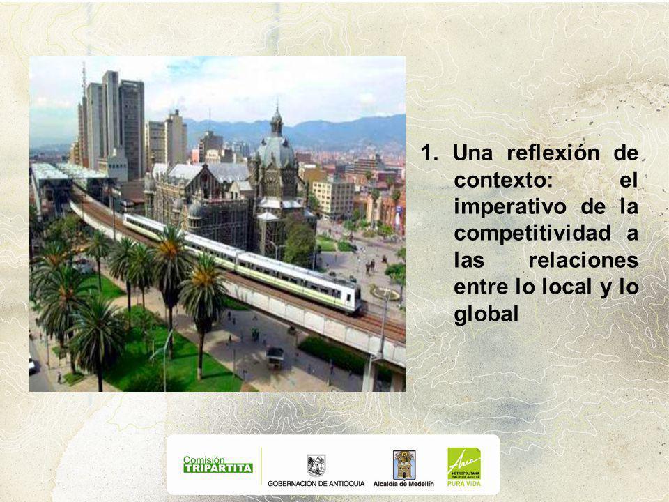 1. Una reflexión de contexto: el imperativo de la competitividad a las relaciones entre lo local y lo global