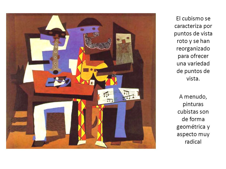 Durante el año 1906, empezó trabajar en una pintura muy diferente de sus otras pinturas.