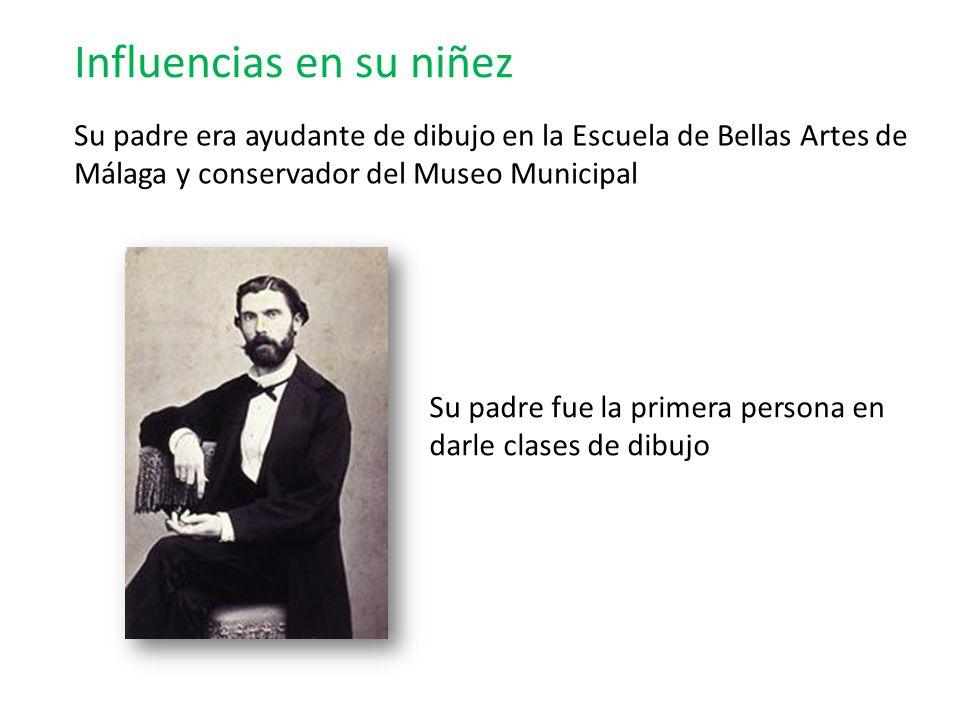 Español nacido en Málaga en 1881 Pablo Ruiz Picasso