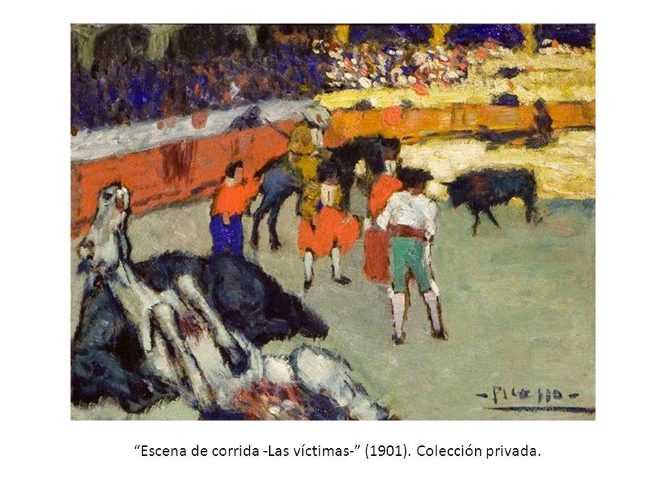 El Picador Amarillo, El picador amarillo (h. 1889-1890). Colección de los herederos del artista.