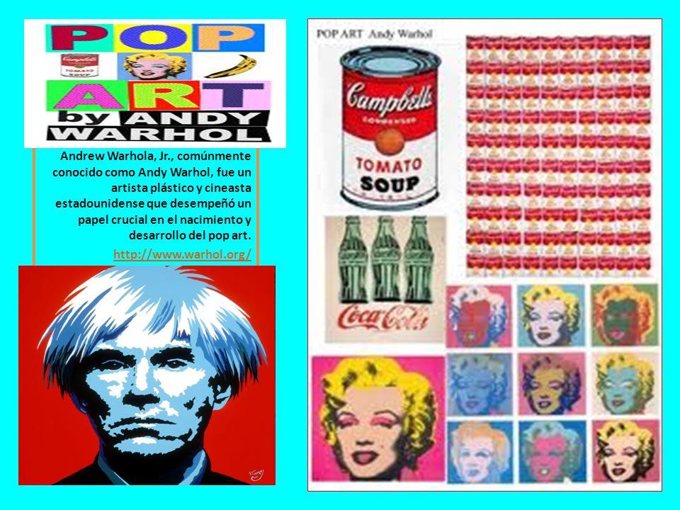Andrew Warhola, Jr., comúnmente conocido como Andy Warhol, fue un artista plástico y cineasta estadounidense que desempeñó un papel crucial en el naci