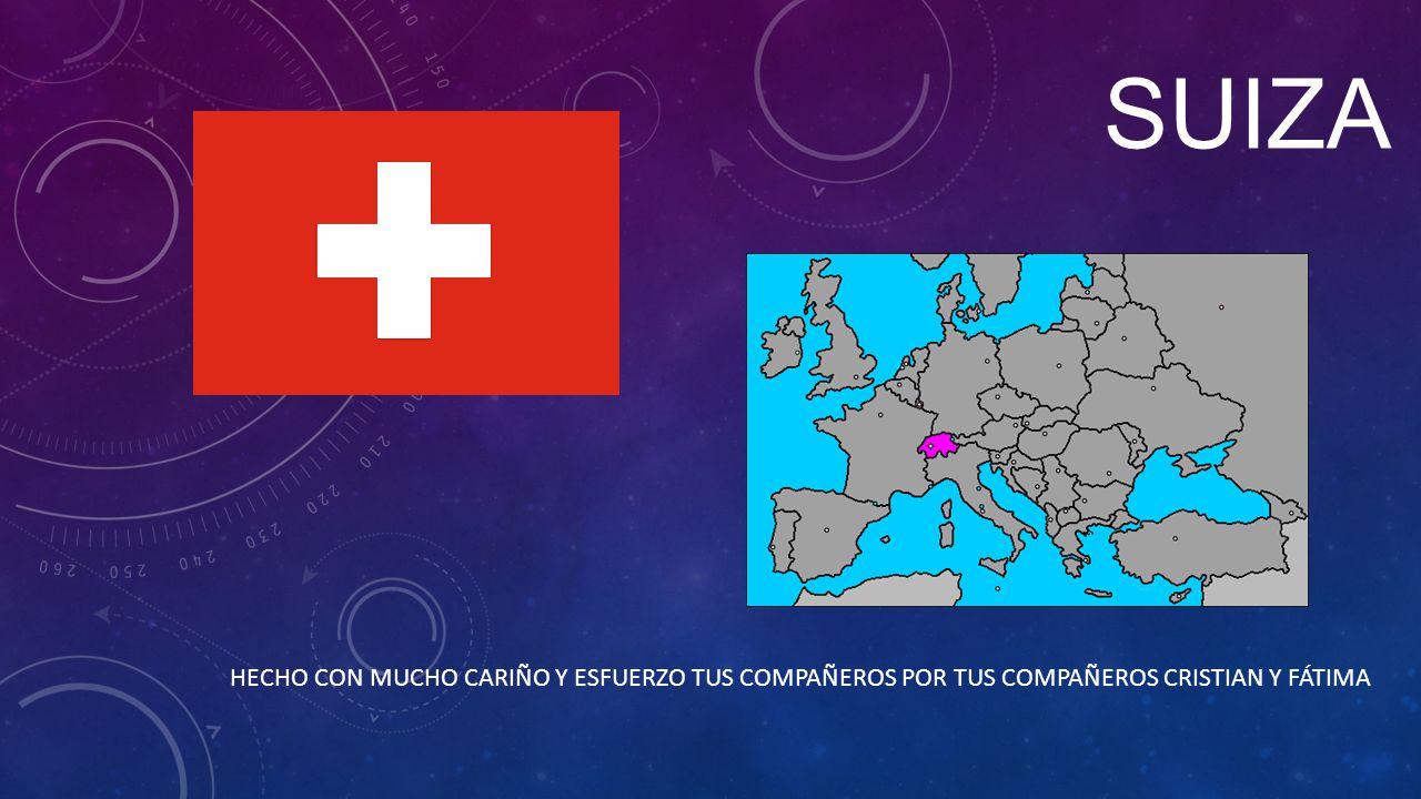 SITUACIÓN Suiza limita al norte con Alemania, al oeste con Francia, al sur con Italia y al este con Austria y Liechtestein.