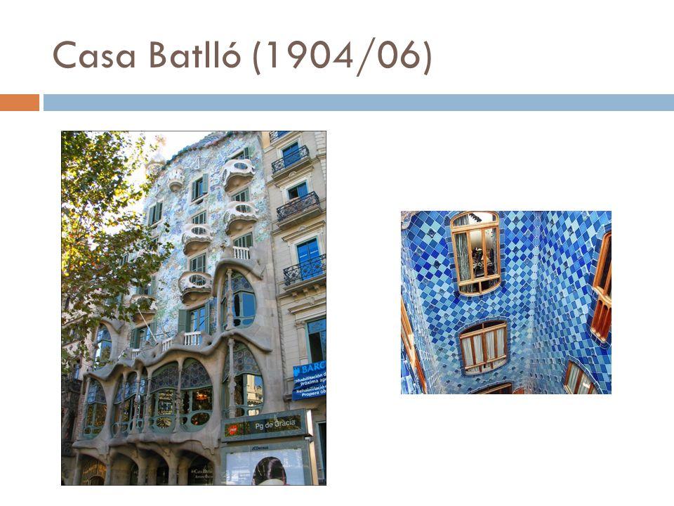 Casa Batlló (1904/06)