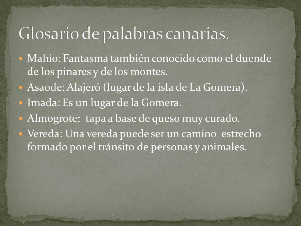 Orone escribió en su diario, todo lo que había hecho desde que llegó a la isla de La Gomera.