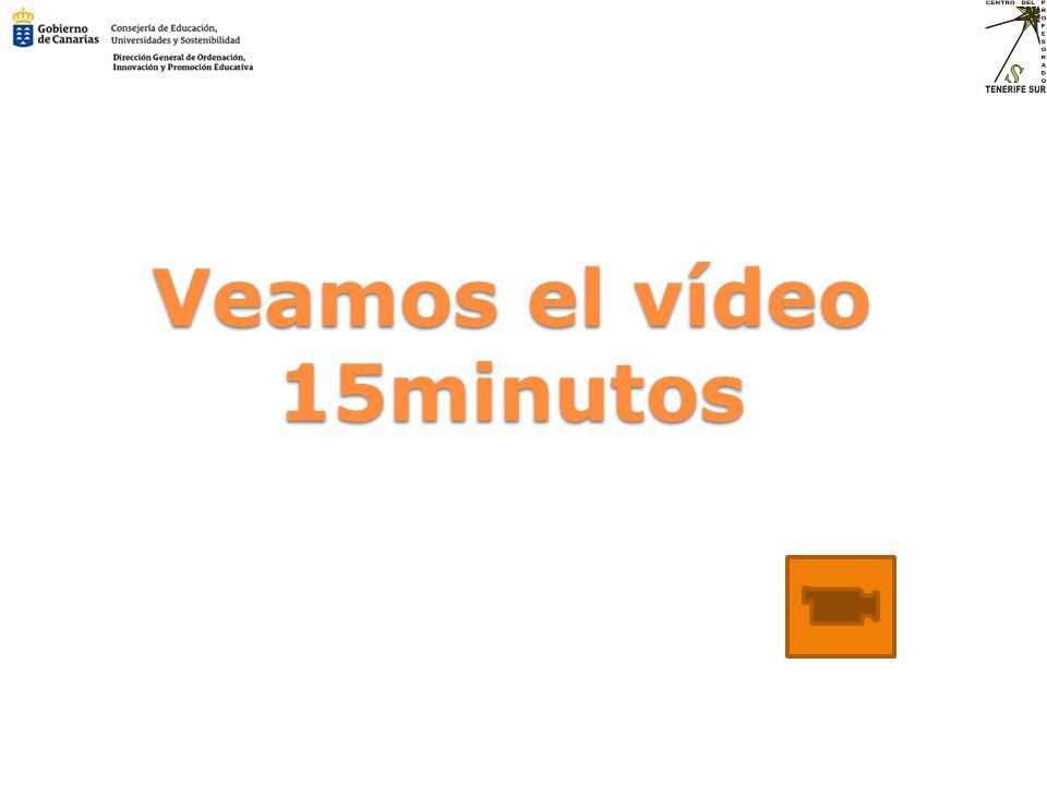 Veamos el vídeo 15minutos