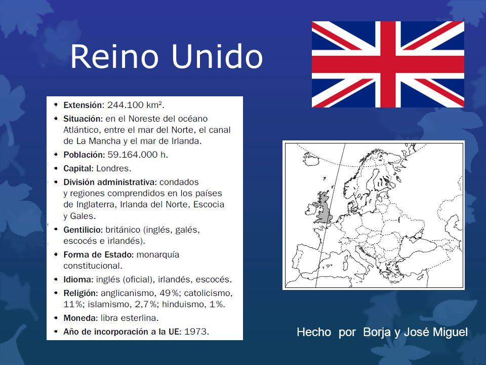 Reino Unido Hecho por Borja y José Miguel