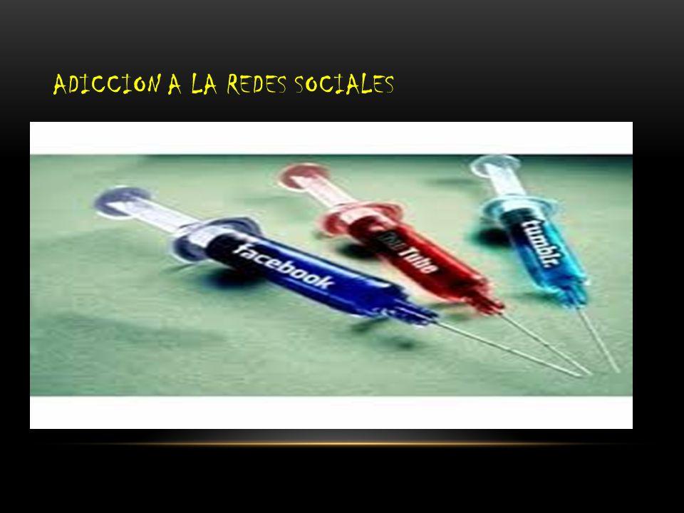 ADICCION A LA REDES SOCIALES