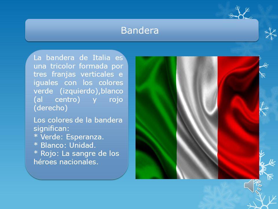 Idioma oficial El idioma oficial y hablado por la gran mayoría es el italiano, de la familia de lenguas romances indoeuropeas. También hay zonas donde