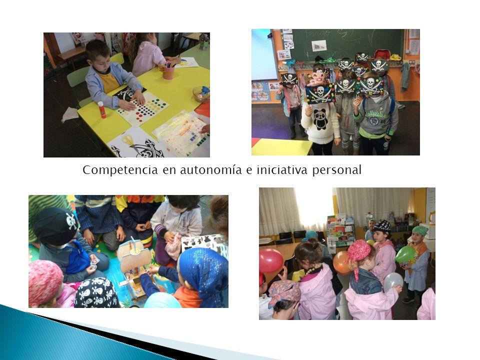 Competencia en autonomía e iniciativa personal