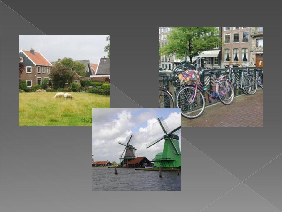 Holanda es el país con la mayor densidad de población por km² en la Unión Europea y es uno de los países con mayor densidad de población en todo el mundo Ámsterdam es la capital, pero el gobierno tiene su sede en La Haya.