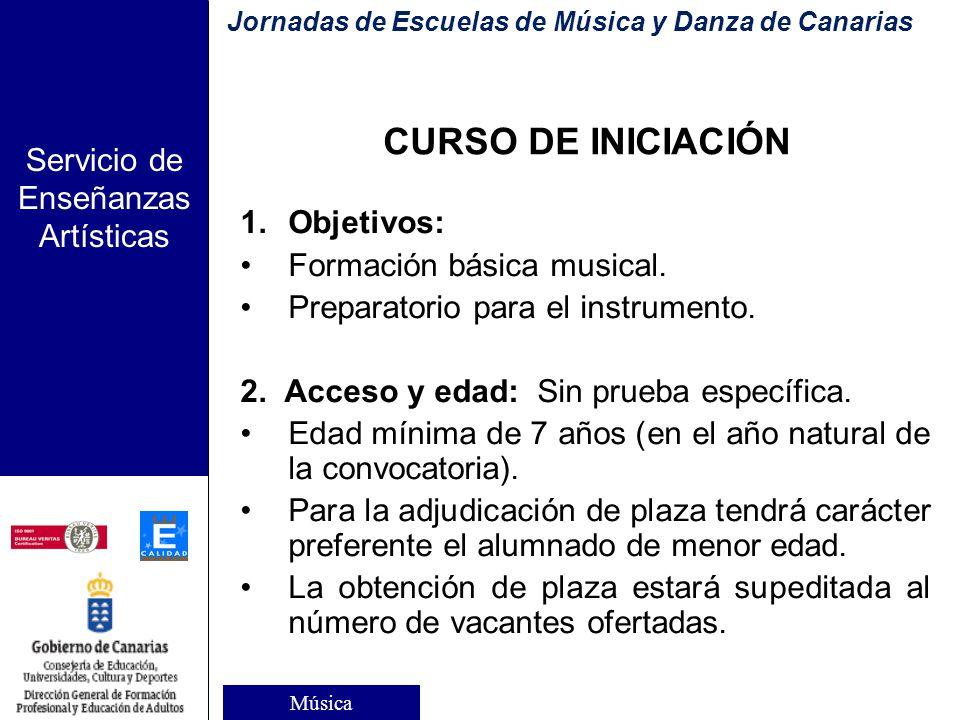 Servicio de Enseñanzas Artísticas Organización (L.O.E.