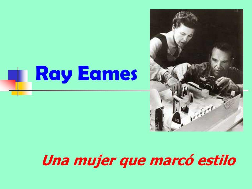 Ray Eames Una mujer que marcó estilo