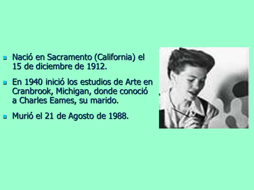 Nació en Sacramento (California) el 15 de diciembre de 1912. Nació en Sacramento (California) el 15 de diciembre de 1912. En 1940 inició los estudios