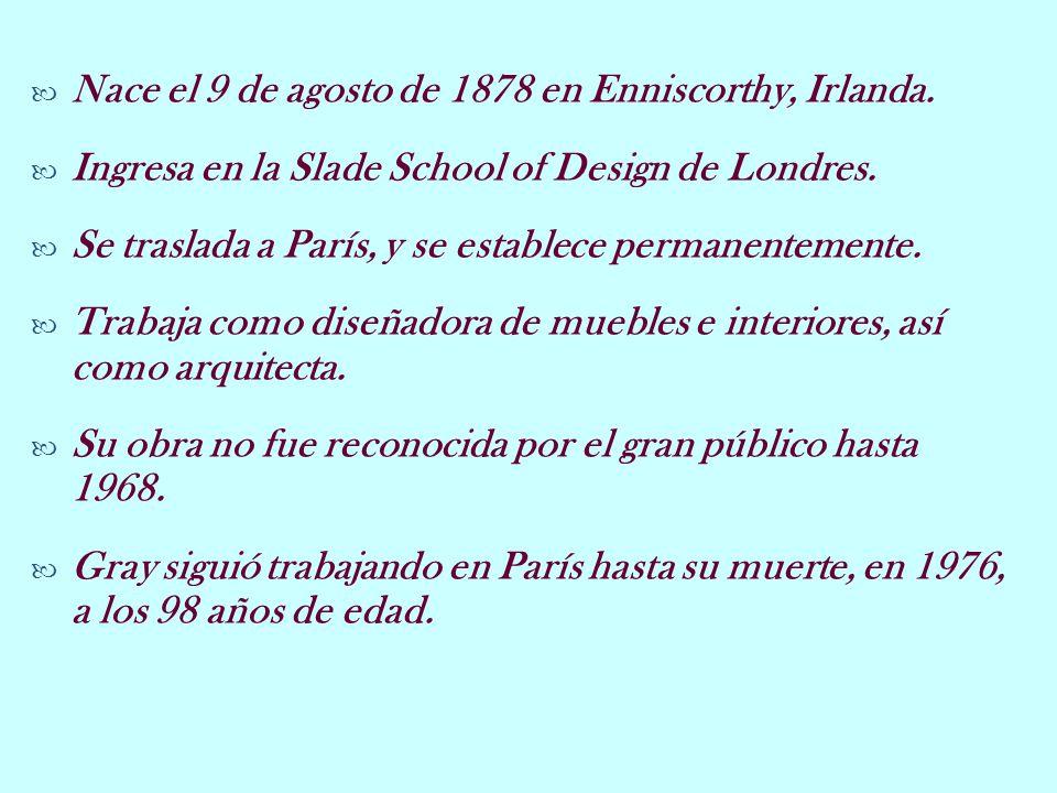 Nace el 9 de agosto de 1878 en Enniscorthy, Irlanda. Ingresa en la Slade School of Design de Londres. Se traslada a París, y se establece permanenteme