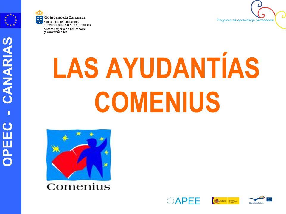 OPEEC - CANARIAS LAS AYUDANTÍAS COMENIUS