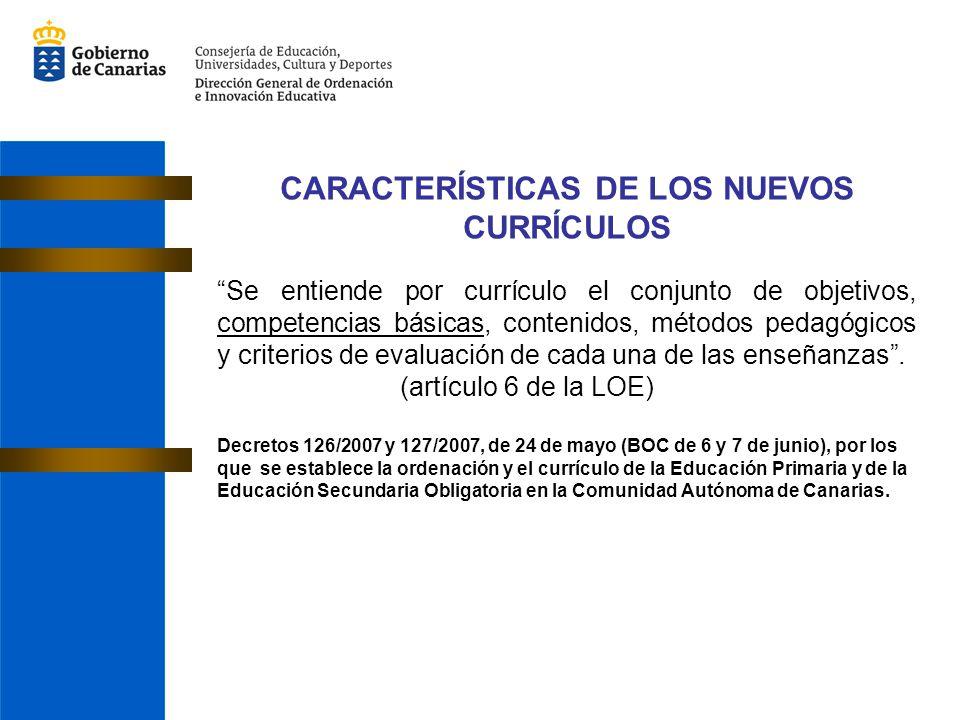 Se entiende por currículo el conjunto de objetivos, competencias básicas, contenidos, métodos pedagógicos y criterios de evaluación de cada una de las