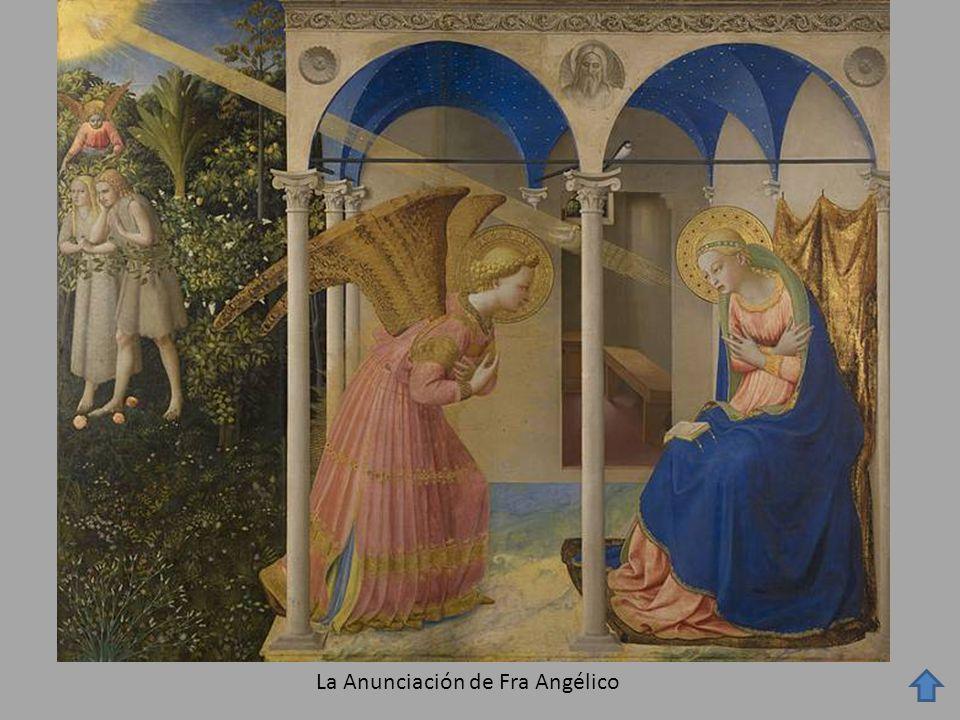 La Anunciación de Fra Angélico