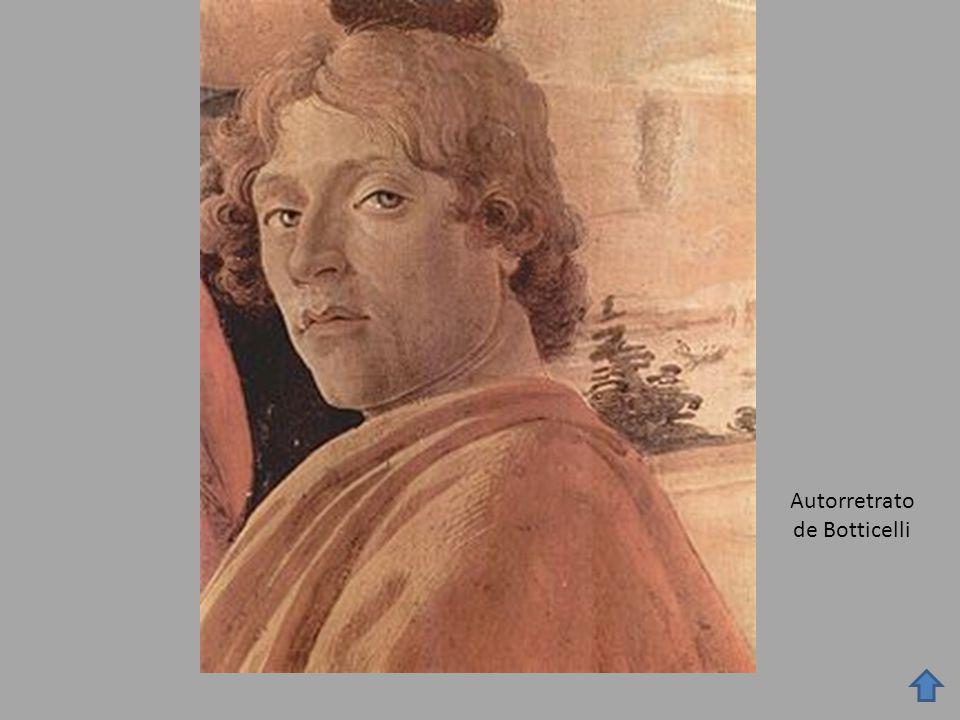 Autorretrato de Botticelli
