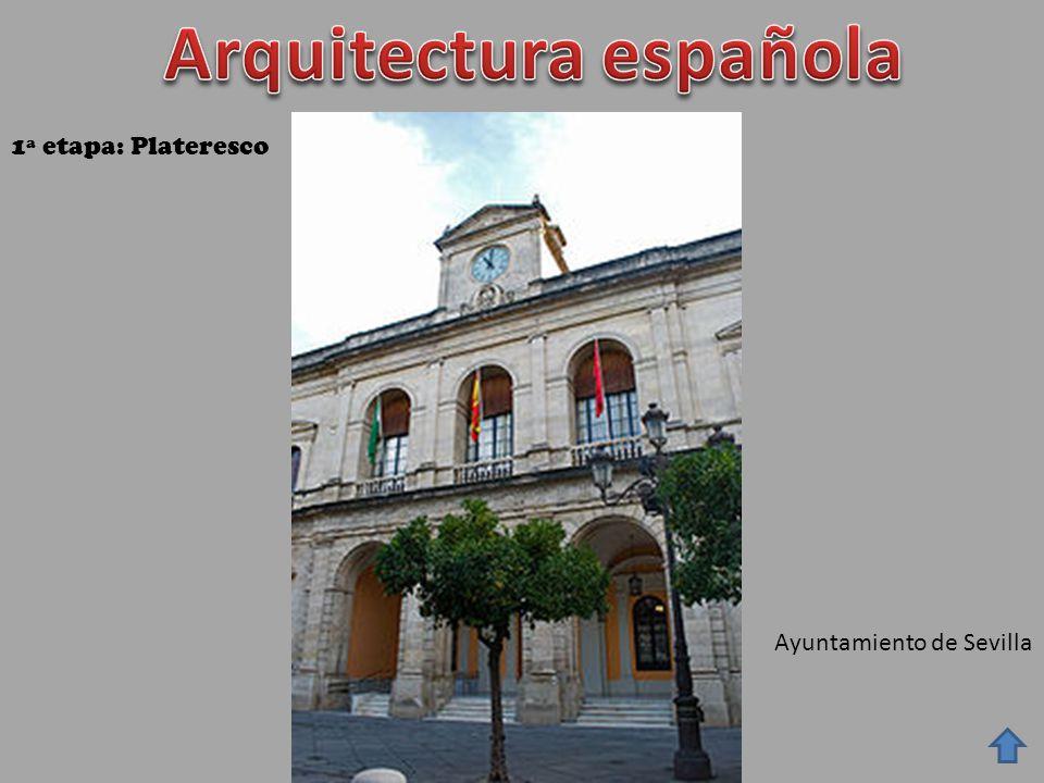 Ayuntamiento de Sevilla 1ª etapa: Plateresco