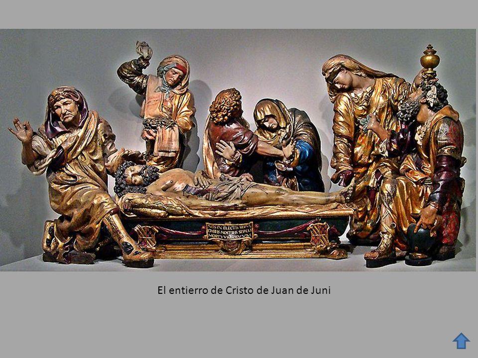 El entierro de Cristo de Juan de Juni