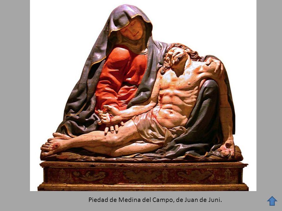 Piedad de Medina del Campo, de Juan de Juni.