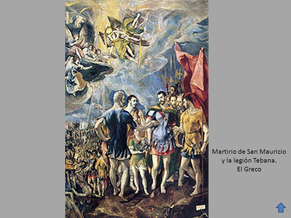 Martirio de San Mauricio y la legión Tebana. El Greco