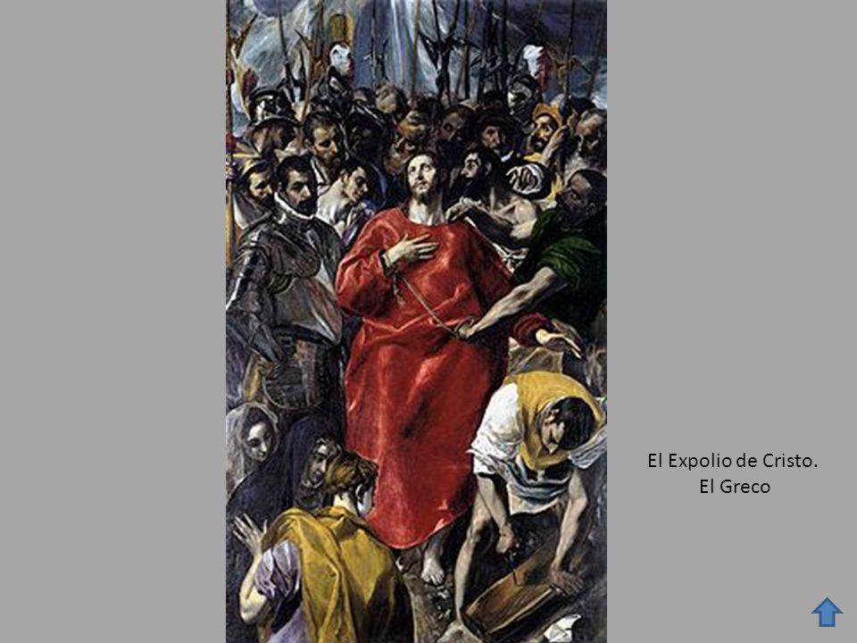 El Expolio de Cristo. El Greco