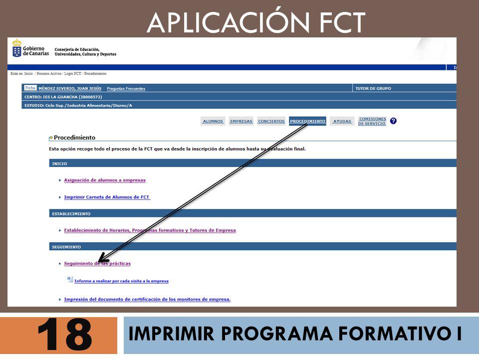 18 APLICACIÓN FCT IMPRIMIR PROGRAMA FORMATIVO I