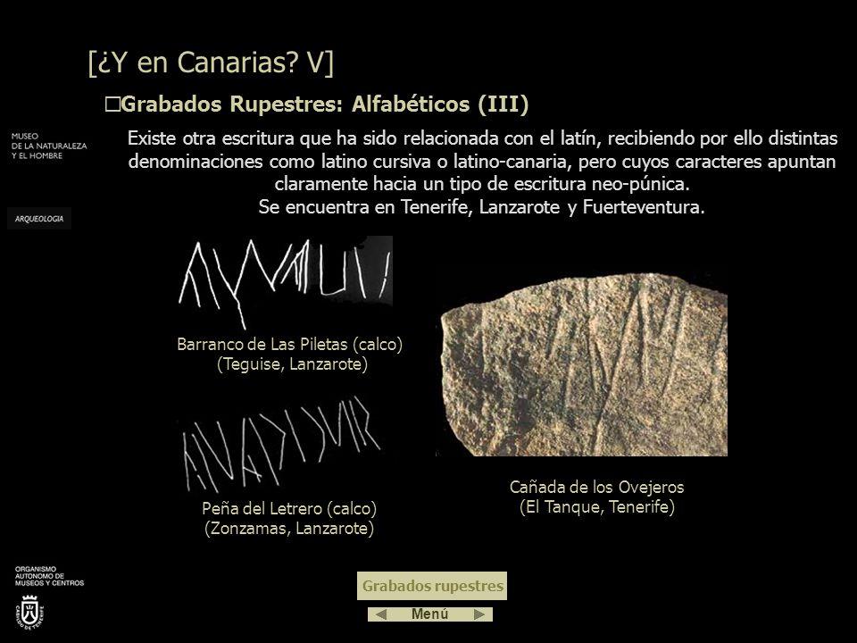 La Piedra Zanata (El Tanque, Tenerife) es una pequeña piedra con forma de pez que en su centro tiene grabados unos caracteres que han sido leídos como