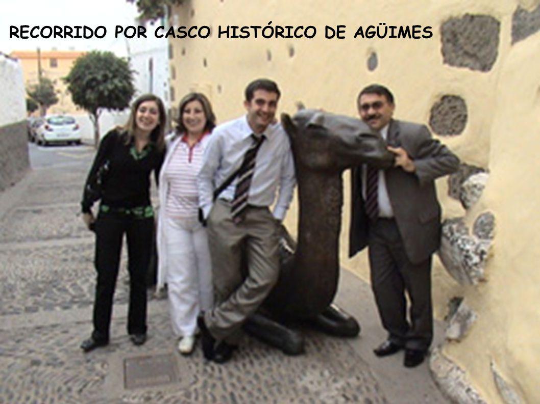RECORRIDO POR CASCO HISTÓRICO DE AGÜIMES