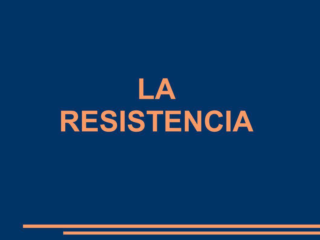 ÍNDICE 1.- CONCEPTO DE RESISTENCIA 2.- TIPOS DE RESISTENCIA 3.- PRUEBAS QUE USAMOS PARA VALORARLA 4.- EVOLUCIÓN DE LA RESISTENCIA CON LA EDAD 5.- CÓMO PODEMOS MEJORAR LA RESISTENCIA