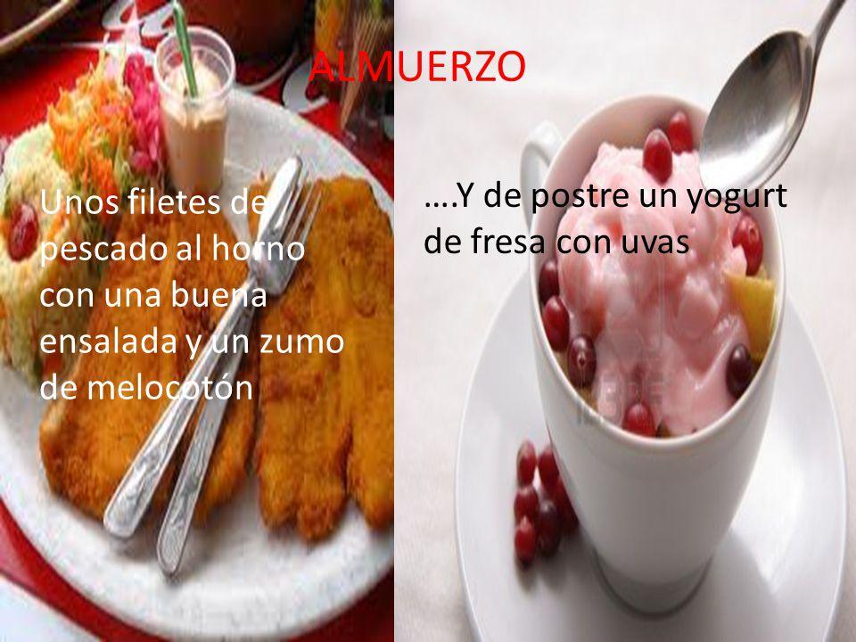 VIERNES DESAYUNO Unas tostadas con mermelada y un vaso de leche