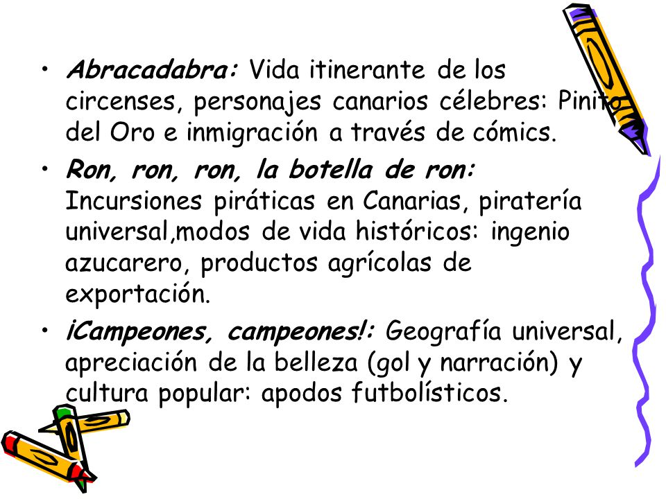 Abracadabra: Vida itinerante de los circenses, personajes canarios célebres: Pinito del Oro e inmigración a través de cómics.