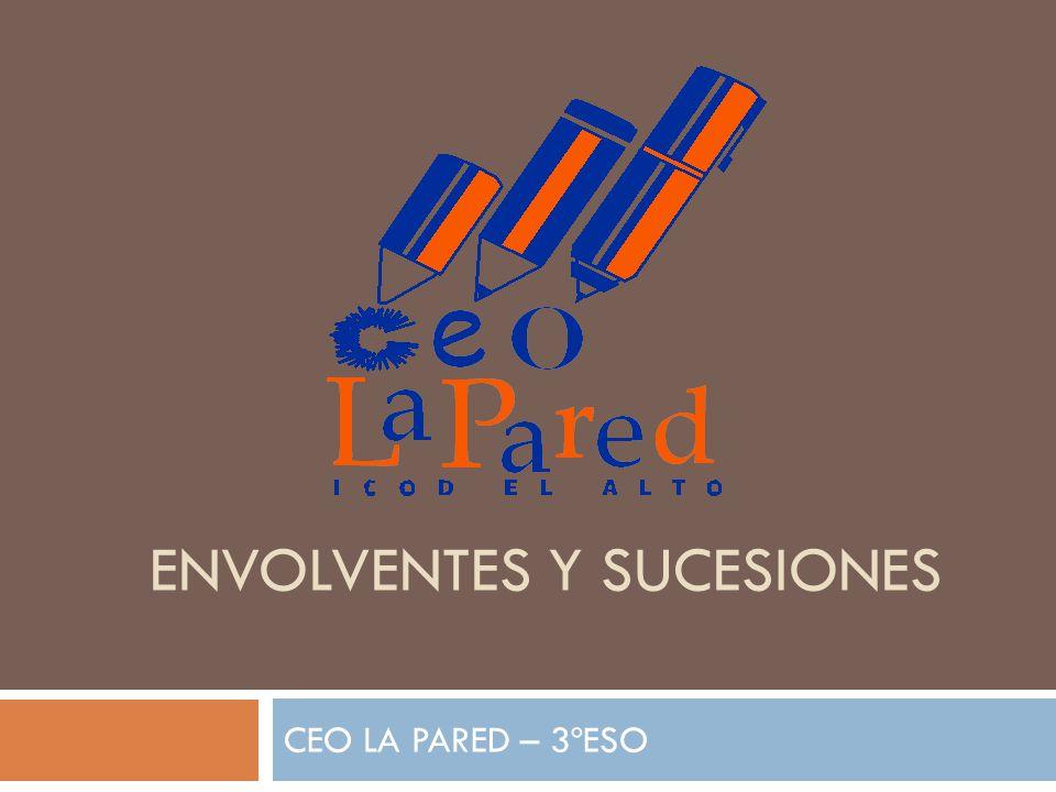 ENVOLVENTES Y SUCESIONES CEO LA PARED – 3ºESO