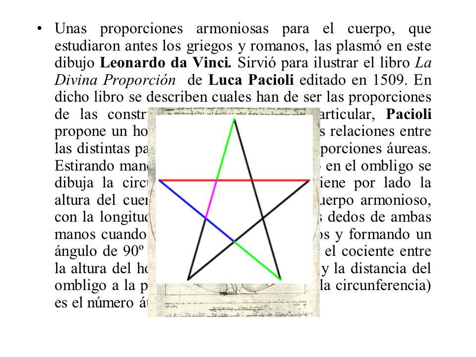 Hombre de Vitruvio El pentáculo, un símbolo pagano, más tarde acogido por la iglesia católica para representar a la Virgen María, y también por Leonar